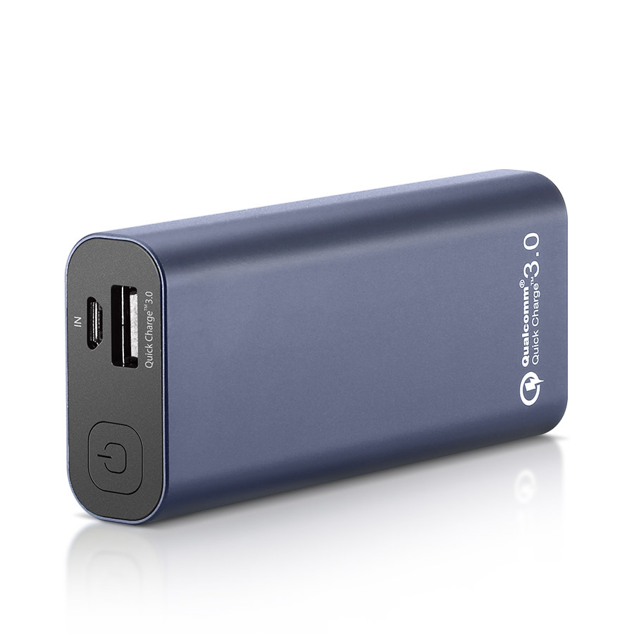 [Qualcomm Certified] BlitzWolf® BW-P4 5200mAh Quick Charge 3.0 Power Banktest主标二
